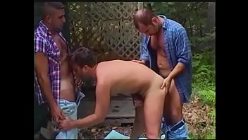 Gay camping trip Dude blow his buddies after a shower in the camp