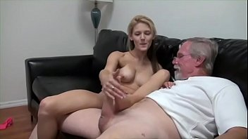 daughter eating father.MP4