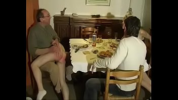 Spank realmedia - Two couples dinner