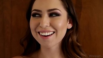 Melissa Moore,Reena Sky  are licked
