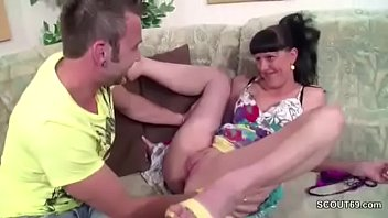 GERMAN STEP BRO SEDUCE SISTER TO GET HIS FIRST FUCK WHEN HOME ALONE