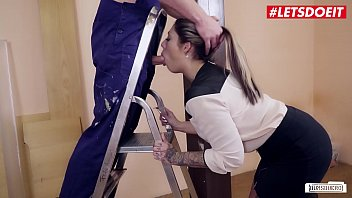 Uniform girls porn tits Letsdoeit - german business babe mia blow fucks at the office with one of her workers