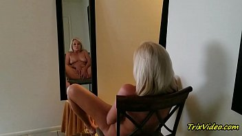 The Erotic Blonde in the Mirror with Ms Paris Rose shemale video miko lee