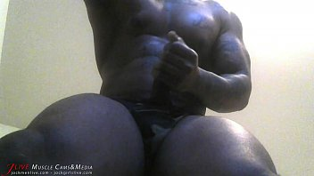 Gay musclemen art Pumping my big black