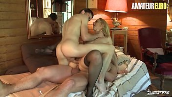 LA COCHONNE - #Louise Du Lac - Big Ass French MILF DP Fun With Stepson And New Husband