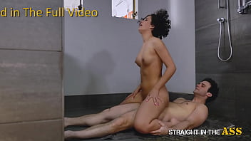 Straight In The Ass - Hot Ass Fuck For Couch Surfing Slut