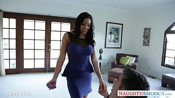 Splendid Brunette Luna Star Gets Fucked