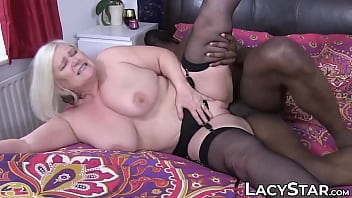 Interracial granny tube Granny dicked before interracial old vs young facial