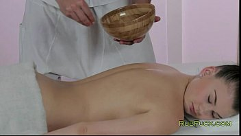 Hot Natural Babe Gets Breasts Massage And Fuck
