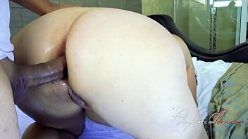 My aunt goes to my room to fuck - my aunt asks me to fuck her anal - fat mature aunt wants anal