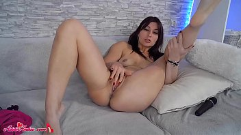 Sexy Babe Fingering Tight Pussy - On Camera