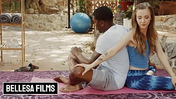 Interracial Sex Outdoor With Gorgeous (Karla Kush, Isiah Maxwell) - Bellesa