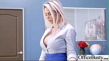 Hard Sex Tape In Office With Big Round Tits Sexy Girl (Rachel RoXXX & Skyla Novea) video-27