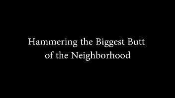 BrazilianBigButts.com Hammering BBW with the biggest butt of the neighborhood