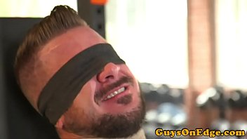 Gay bondage videos on demand Tied up inked bdsm sub anal toyed by dom