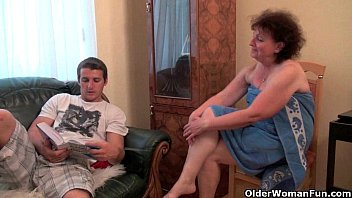 Grandmother mature sex tube - Why are you touching my penis grandma