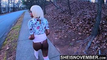 I Said No! Step Dad Please Stop! Daddy Needed Sex And Didn't Listen, Forest Missionary Forced Fuck Inside Innocent EbonyStepDaughter Msnovember EbonyPussy on Sheisnovember