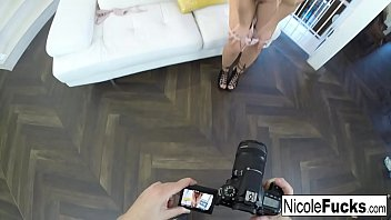 Image: Hot  Nicole Aniston makes Chad's dick ooze