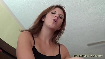 I will make you swallow all of your own cum CEI