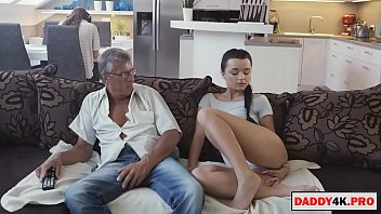 Girl Doesn't Get His Boyfriend Attention So She Fucks Her Father