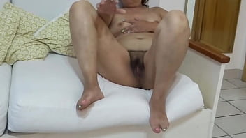 Intermediate video - My hot wife, Latin mother shows off on the beach and puts many hard cocks, excited she goes to the apartment and masturbates in front of the hotel owner, she asks him to fuck her hard in the ass, cuckold husband