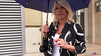 GERMAN SCOUT - Bombshell MILF Tiffany tricked to Fuck at real Pick up Street Casting thumbnail