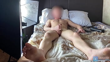 Jerking cock and videotaping for porn! Guy Jerks Off Dick! - onlyfans.com/erect dick 10 min