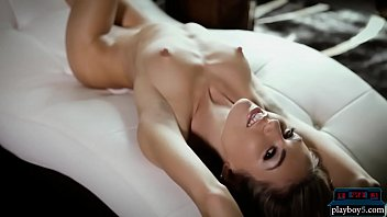 Incredibly good looking blonde models stripping naked