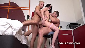 Liloo first DP with Rough Sex, Balls Deep DP, Manhandle and Cum in Mouth GL099