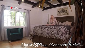 NannySpy Sexting petite nanny Lily Rader caught and fucked