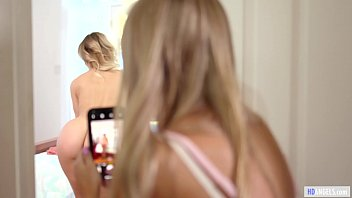MOMMY'S GIRL - Why are you taking naked pictures of your Mom? - Cherie Deville and Scarlett Sage