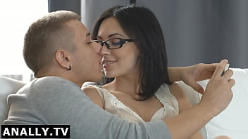 Anally.tv Sheri had her glasses on when having anal sex