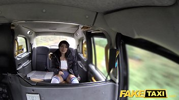 Fake Taxi knee high socks beauty with no knickers takes it all thumbnail