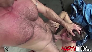 NASTYDADDY Daddy Nick Capra Sticks His Toe Into Young Ass