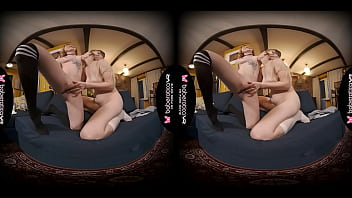 Solo Babe, Mirai Invited Rina Ray To Her Bedroom, In VR