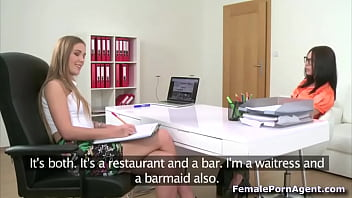 Waitress Wants To Be A Porn Star