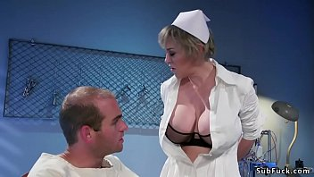 Dominant Milf nurse fucks patient