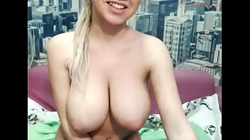 Amazing blonde girl on webcam chat preview image