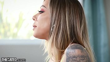 Throated - Karma Rx Gets Face Destroyed From Messy Mouth Fuck thumbnail