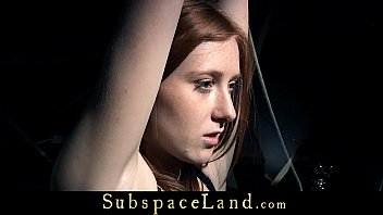 Redhead bitch bound with tape and vibe-masturbated