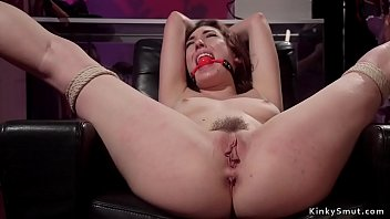 Shoplifter anal fucked in bondage by owner