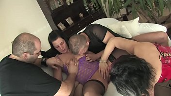 Free version - A dinner in the company, it becomes an exchange of pussy and hot cocks