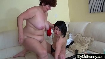 Babe and granny making love