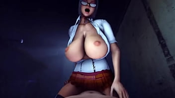 Prison School Bitch Meiko Shiraki Dominates a Big Dick (HentaiSpark.com)
