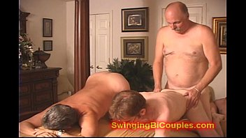 Swinging couples fucking and sucking