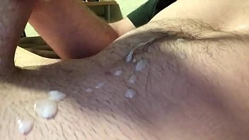 Shaved up and got super hard so I decided to cum