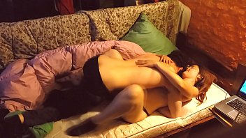 Romantic and passionate sex. Couple in love have homemade sex 15 min