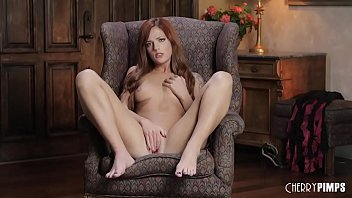 Redhead Scarlett Mae Works Her Wet Pussy In A Magnificent Solo Masturbation Tease Scene