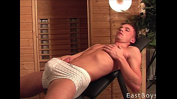 Muscular gay boys jerking off Eastboys remastered collection 15