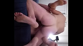 Bbw huge tit wife fucked and creampied  closeup